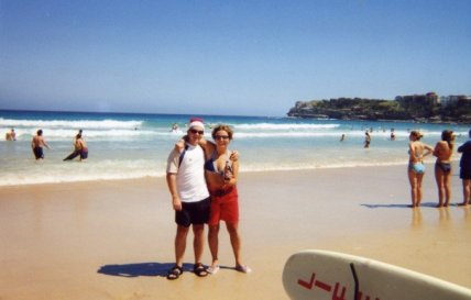 christmas bondi beach