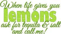 lemons tequilla
