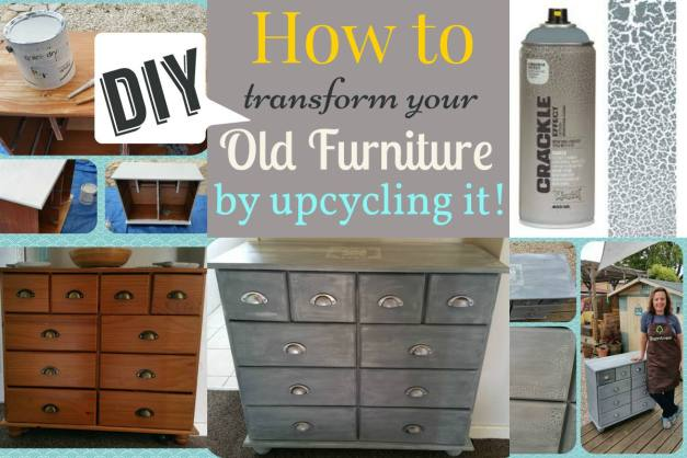 title upcycled chest of drawers